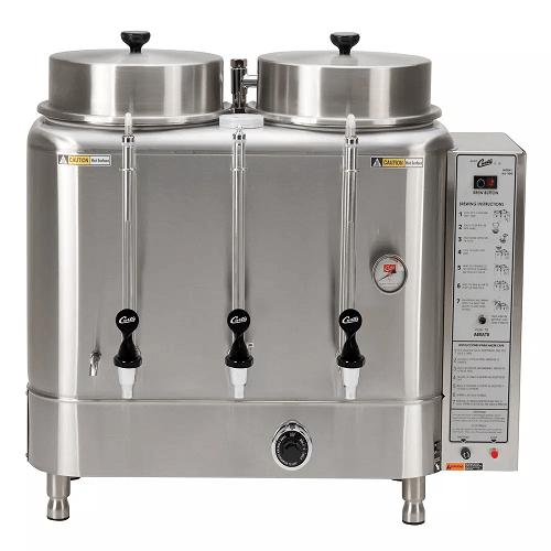 Curtis RU-600-20 Automatic Twin 6 Gallon Coffee Urn Large Volume Repair